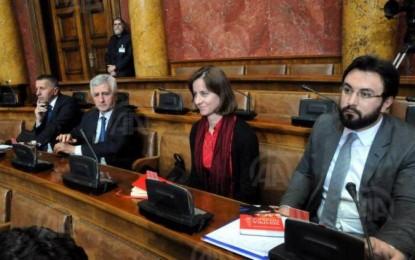 Klub i përbashkët i deputetëve të SDA të Saxhakut dhe PVD-së në parlamentin serb