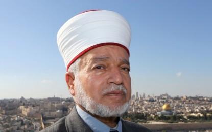 Myftiu i Jerusalemit bën thirrje për protestë pranë Xhamisë Al-Aksa