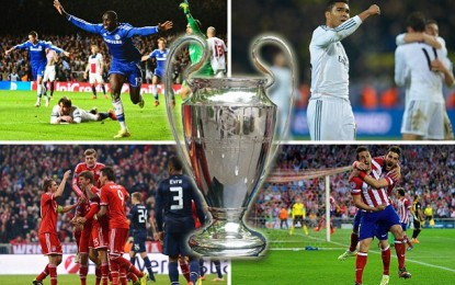 Kompanitë e basteve: Bayern-Atletico finalja