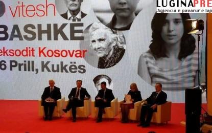 Kryetari  Arifi  merrë pjesë në  15 vjetorin e eksodit më të madh të shqiptarëve të Kosovës