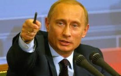 Putin shijon lavdinë e pushtimeve