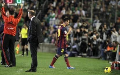 Messi po vuan nga lodhja mendore