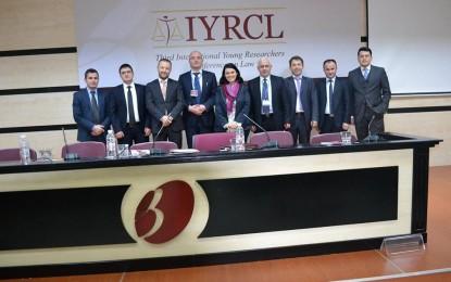 """Nagip Arifi morri  pjesë në """"Konferencën e tretë Ndërkombëtare të studjuesëve të ligjit"""" në Tiranë.(Foto)"""
