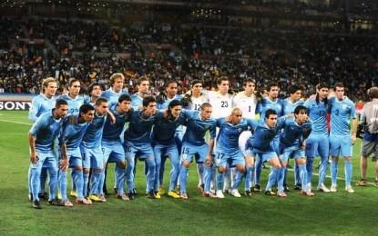 Metamatika nxjerr Uruguajin fitues të Botërorit
