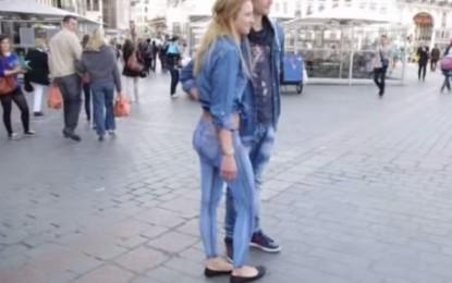 Del lakuriq në mes të rrugës, por askush s'e dallon – VIDEO