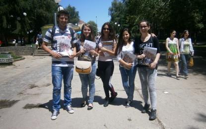 """Doli në dritë revista për të rinjë """"Youth Union"""" (Video)"""