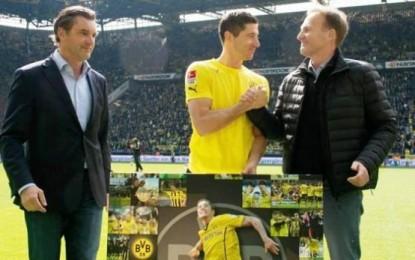 Lewandowski ndahet me Dortmundin (FOTO)