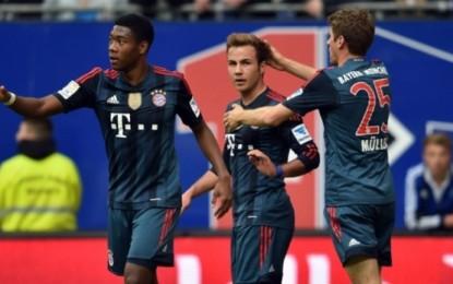 Bayern shfryhet në Hamburgun