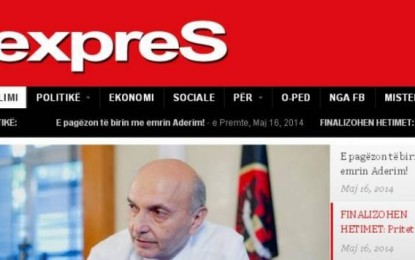 Policia nis hetimet ndaj portalit gazetaexpres