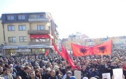Maqedoni: Studentët dhe IGFM  protestë në mbrojtje të familjes Zeqiri