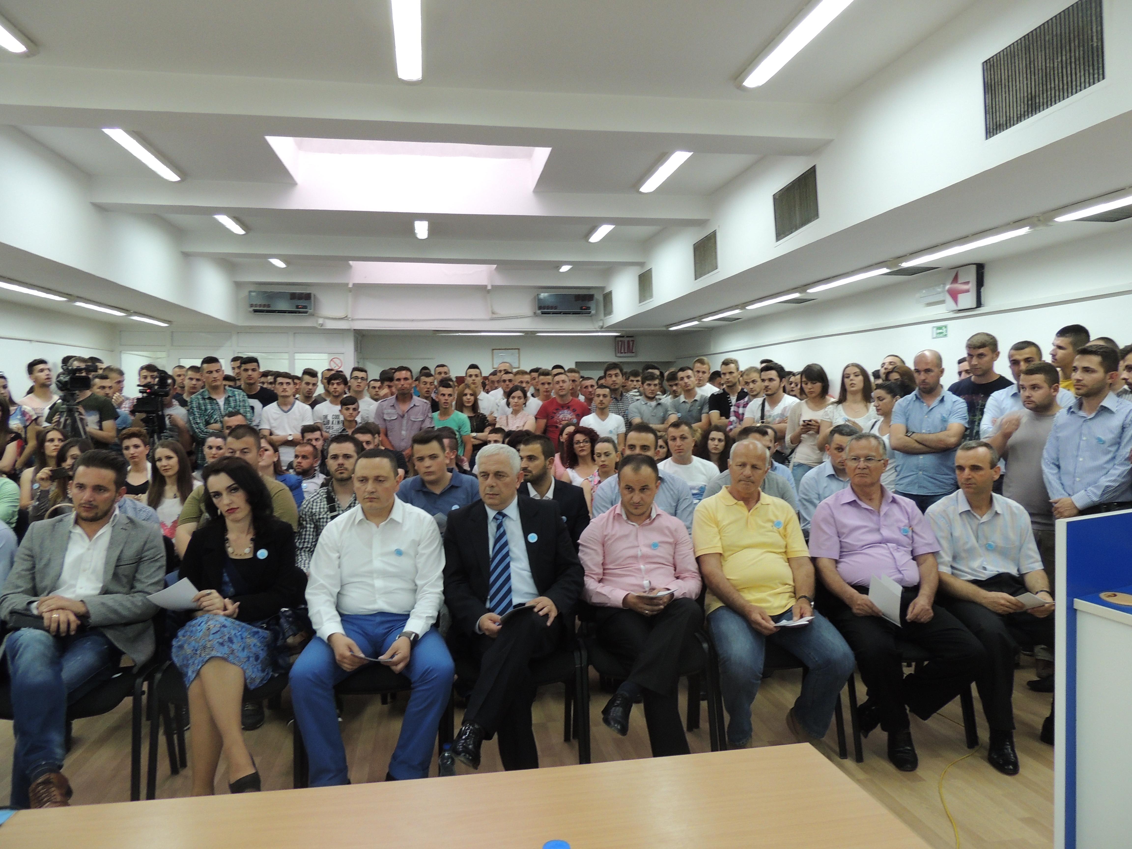 Bujanoc: Forumi i Rinor i PD-së  zgjedh kryesinë e re(Video)