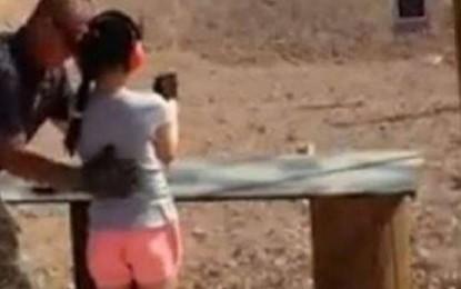 Vajza 9 vjeçare (aksidentalisht) vret instruktorin (Video)