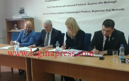 Bujanoc: Përfituesit e subvencioneve nga Trupi Koordinues njoftohen për detajet teknike para nënshkrimit të kontratave