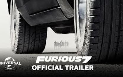 """Paraqitja e shkurtër e """"Fast & Furious 7"""" (Video)"""