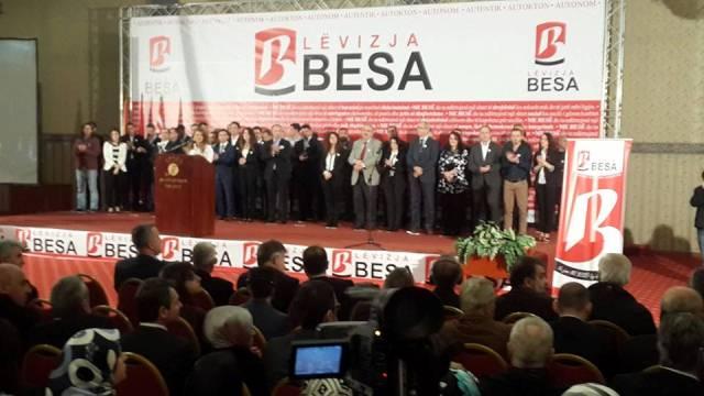 """Në Shkup u themelua lëvizja e re shqiptare në Maqedoni """"BESA"""""""