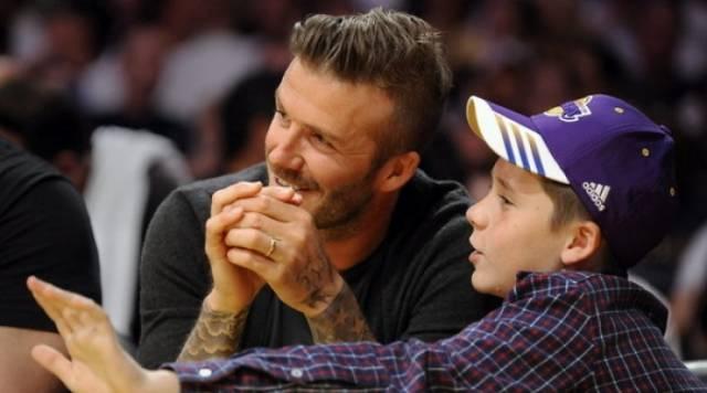 Aksidentohet David Beckham