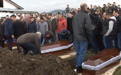 Presheva në ZI – i jepet lamtumira e fundit tre anëtarëve të familjes Hamidi(video)