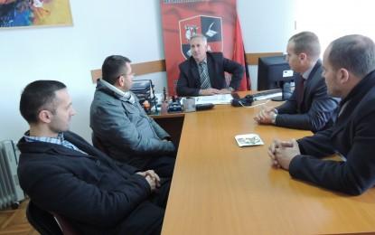 Delegacioni i KBI-së nga Bujanoci  takon  kryetarin e KKSH-së Jonuz Musliun