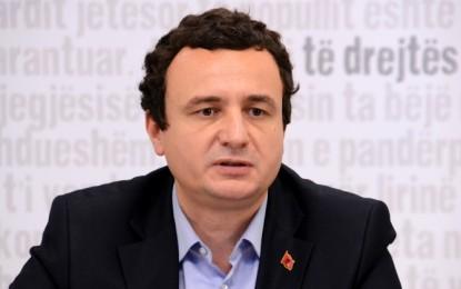 Albin Kurti: Mustafa iu bashkua Thaçit nga lakmia për pushtet dhe frika prej burgut!