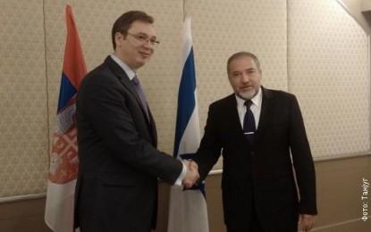 Vuçiq falënderon Izraelin për  ruajtjen e integritetit territorial të  Serbisë