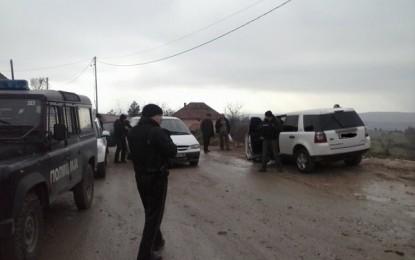 Për duhan të kultivuar nga fshatari i Lubotenit, dhjetëra forca policore