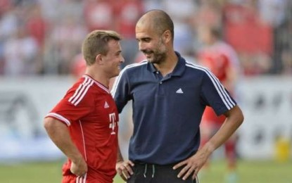 Befason Guardiola: Shaqiri mbetet në Bayern