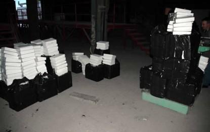 Preshevë: Policia konfiskon 600 kg duhan, arreston dy persona(Foto)