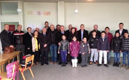 Kryetari Musliu vizitoi Komunën e Medevegjës