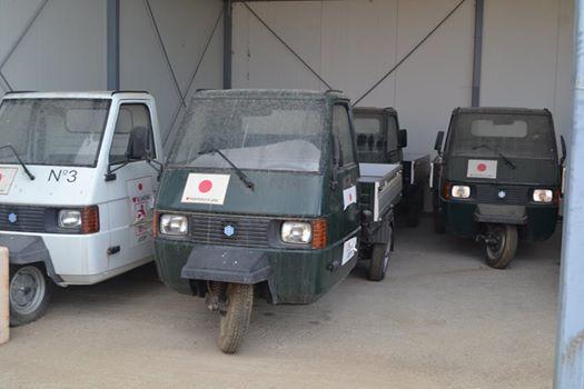 Tetë kamionetat, donacion i popullit japonez më në fund i mbeten komunës së Bujanocit.