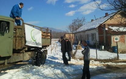 """QSA vazhdon implementimin e projekit """"Përkrahja dimërore 2014″ (foto)"""