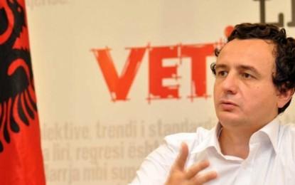 Albin Kurti tërhiqet nga kreu i VV-së