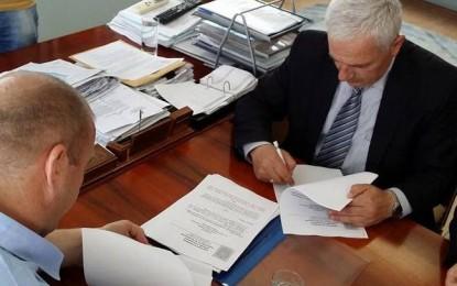 """Nënshkruhet kontrata për  projektin """"Rrethi"""" në hyrje të qytetit të Bujanocit"""