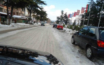 Mërgimtarët ikën parakohe për shkak të kaosit me motin në Maqedoni