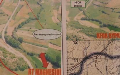 Harta e KFOR-it po i shqetëson banorët e Karaqevës