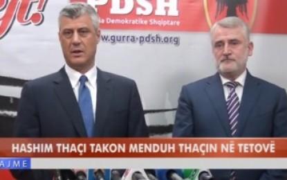 Çfar i tha Hashim Thaçi sonte Menduh Thaçit (VIDEO)
