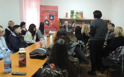 Studentë nga Beogradi vizituan Këshillin Kombëtar Shqiptar