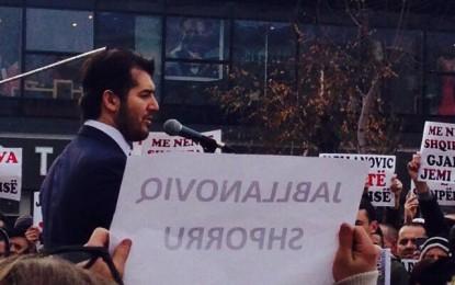 Labi në krye të protestave kundër Jabllanoviqit