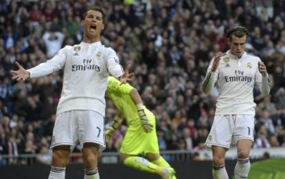 Ronaldo i pakënaqur me Bale, shikoni reagimin e tij (Video)