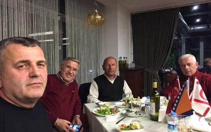 Kryetari Arifi  takoi  biznesmenët shqiptarë  në Bursa të Turqisë(foto)