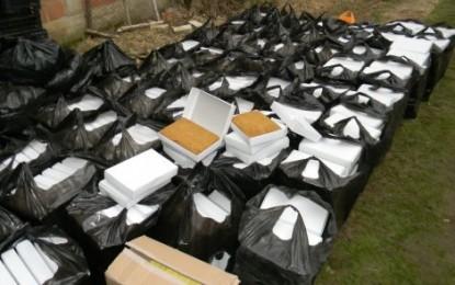 Në një shtëpi në Lluçan të Bujanocit konfiskohen 960 kilogram duhan (Foto)