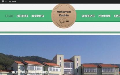"""Shkolla """"Muharrem Kadriu"""" në Tërnovc , pasurohet me web-faqe!"""