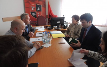 Kryetari i KKSH-së  Jonuz Musliu  priti Astrid Thors