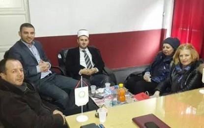 Kryetarja e UGT-së turke Kiymet Kara vizitoi KBI-në në Preshevë