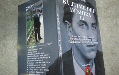 """Botohet libri me poezi të nxënësve """"Kujtime dhe dëshira III"""""""
