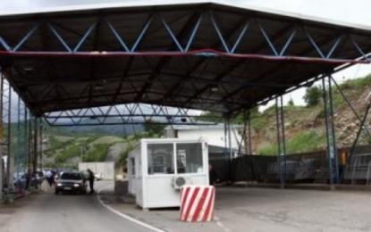 Policia Kufitare e Kosovës bllokon punën e taksive  nga Bujanoci