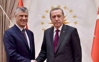 Thaçi takon Erdoganin: Kushte sa më tërheqëse për biznesin turk