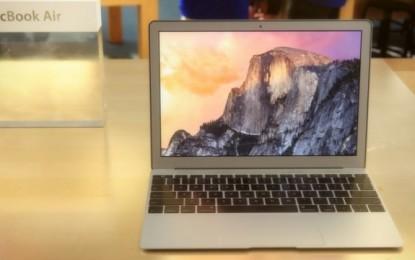 """Apple Mac Book Air i ri me 12"""" prezantohet javën e ardhshme"""