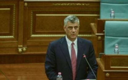 Hashim Thaçi: Gjykata Speciale themelohet nga OKB nëse dështon Kuvendi i Kosovës