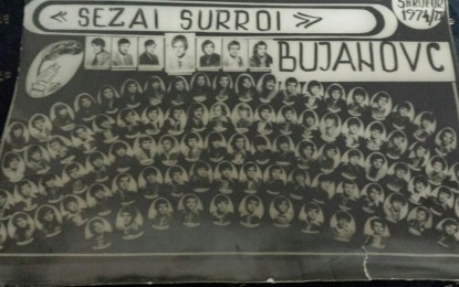 40 vjetori i Maturës – gjimnazi Sezai Surroi – Bujanoc