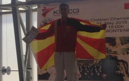 Faik Veseli vendin e parë në Kampionatin Ballkanik në  Herceg Novi të Malit të Zi